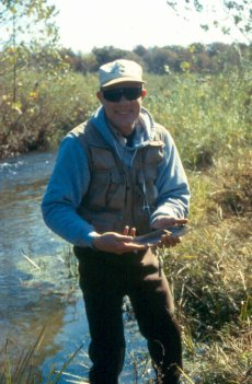 Fly fishing in Missouri's Mill Creek with Stream Side Adventures