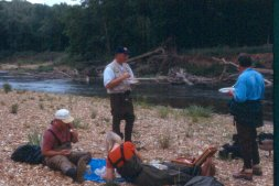 Fly fishing team building event by Stream Side Adventures